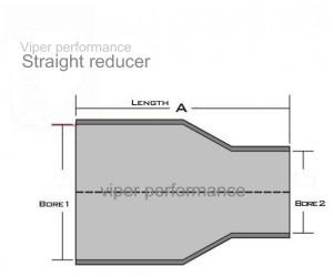 Reducing Diameter Silicone Hoses 1